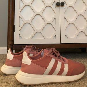 Blush Pink Adidas Sneakers